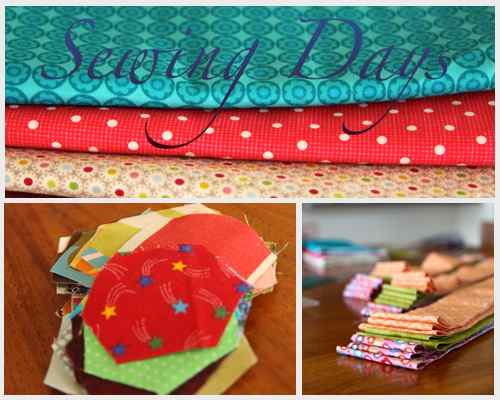 Sewing Days Collage