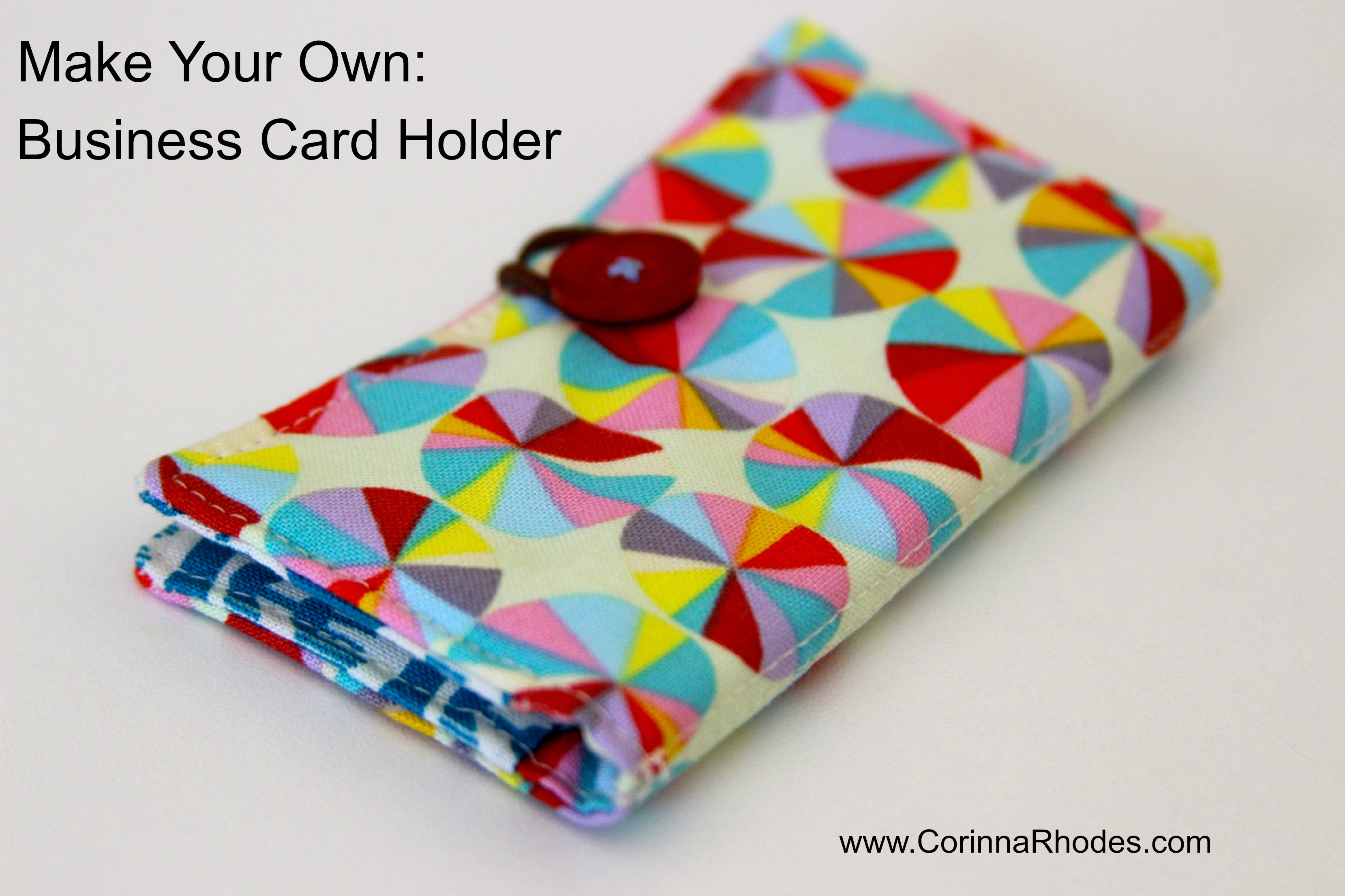 Business Card Holder – Tutorial | Corinna Rhodes